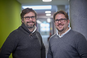 Simon and Mathias Thomas, Managing Directors of the software manufacturer